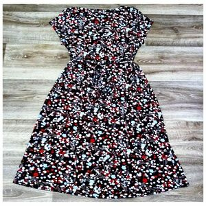 Motherhood Maternity Dresses - Motherhood Maternity Brown Patterned Dress